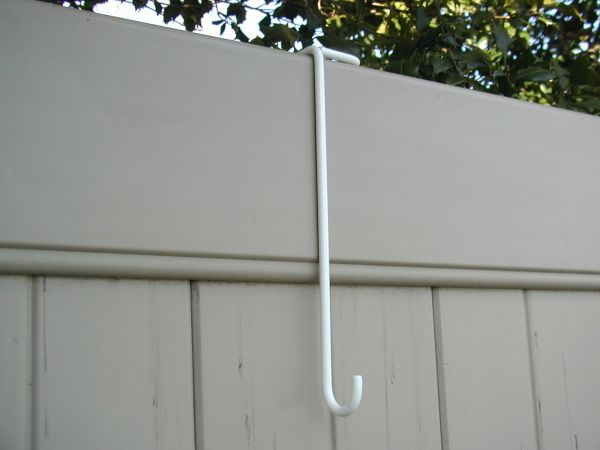 "Part #11 (2"" Thick PVC Fence Rail 10"" Basic Hook)"